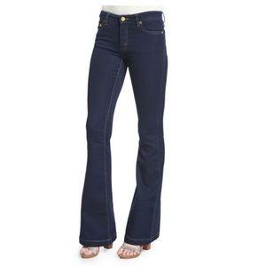 Michael Kors Dark Blue Flare Jean